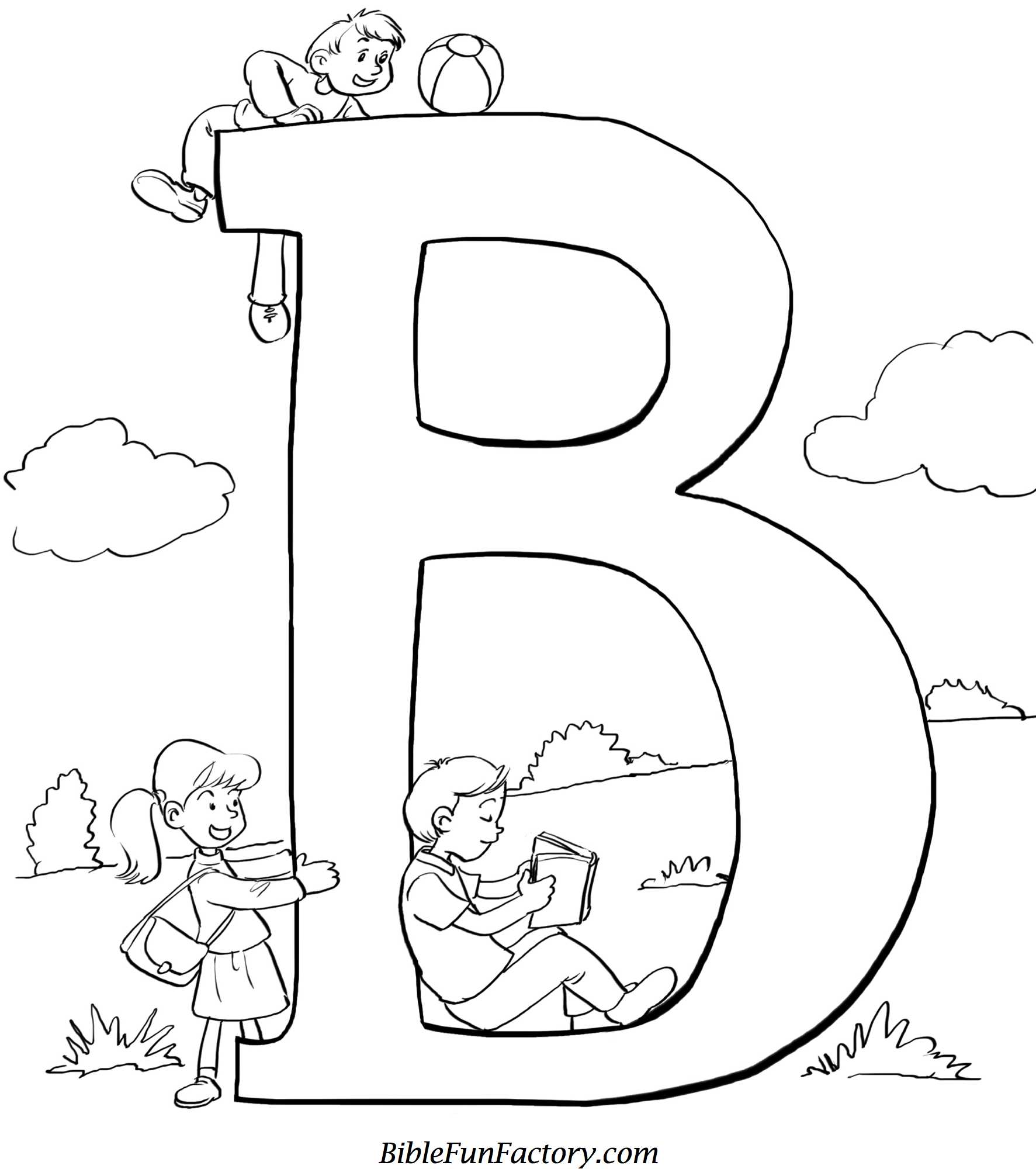 Bible Coloring Sheet: \