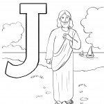 Free Jesus Coloring Pages