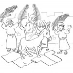 Free Palm Sunday Coloring Pages